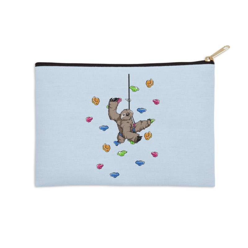 The Climber Accessories Zip Pouch by andrewedwards's Artist Shop