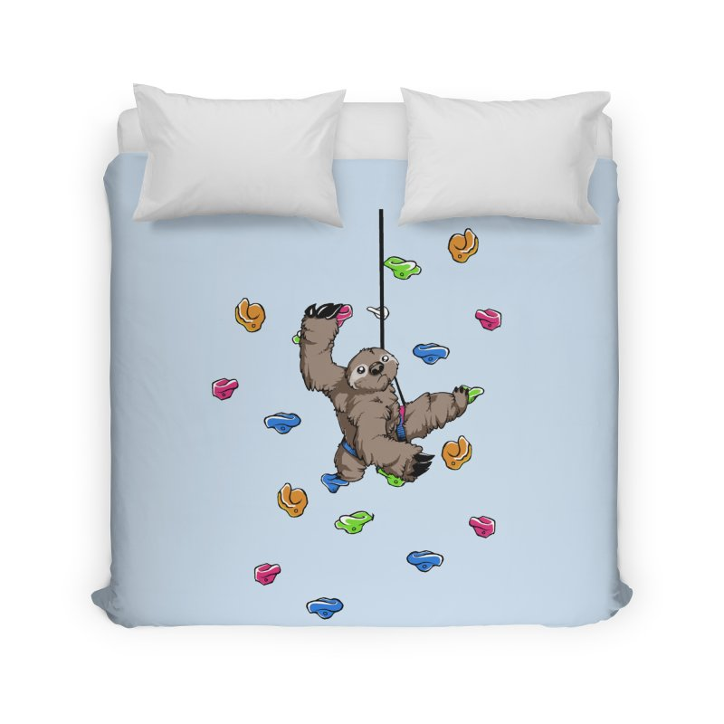 The Climber Home Duvet by andrewedwards's Artist Shop