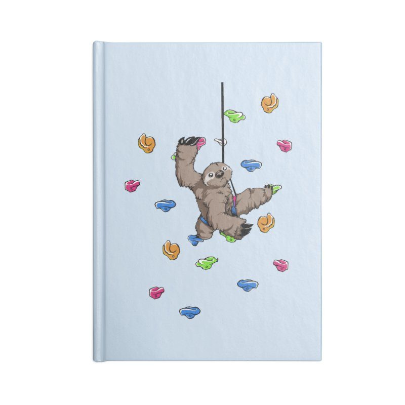The Climber Accessories Lined Journal Notebook by andrewedwards's Artist Shop