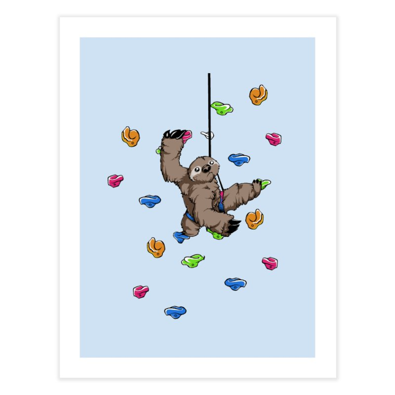 The Climber Home Fine Art Print by andrewedwards's Artist Shop
