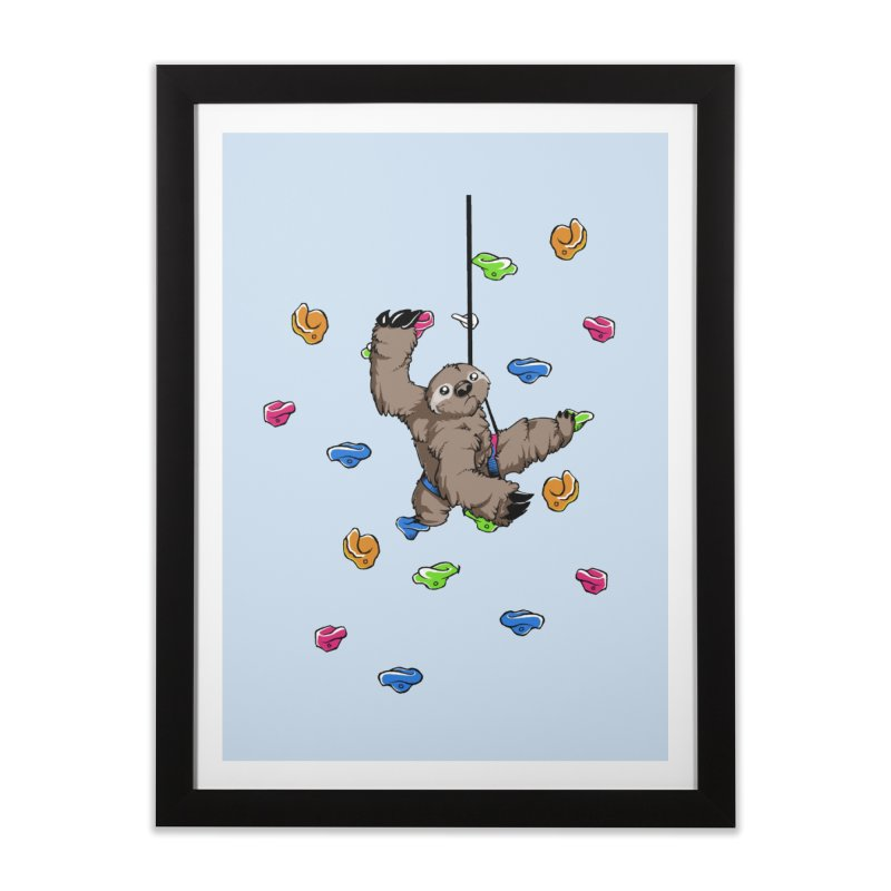 The Climber Home Framed Fine Art Print by andrewedwards's Artist Shop
