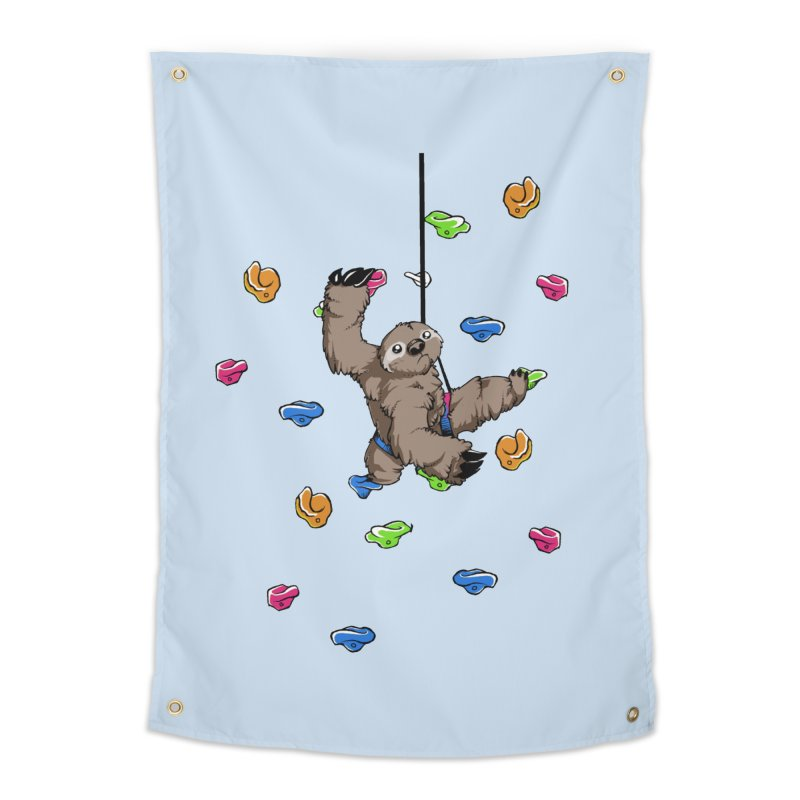 The Climber Home Tapestry by andrewedwards's Artist Shop