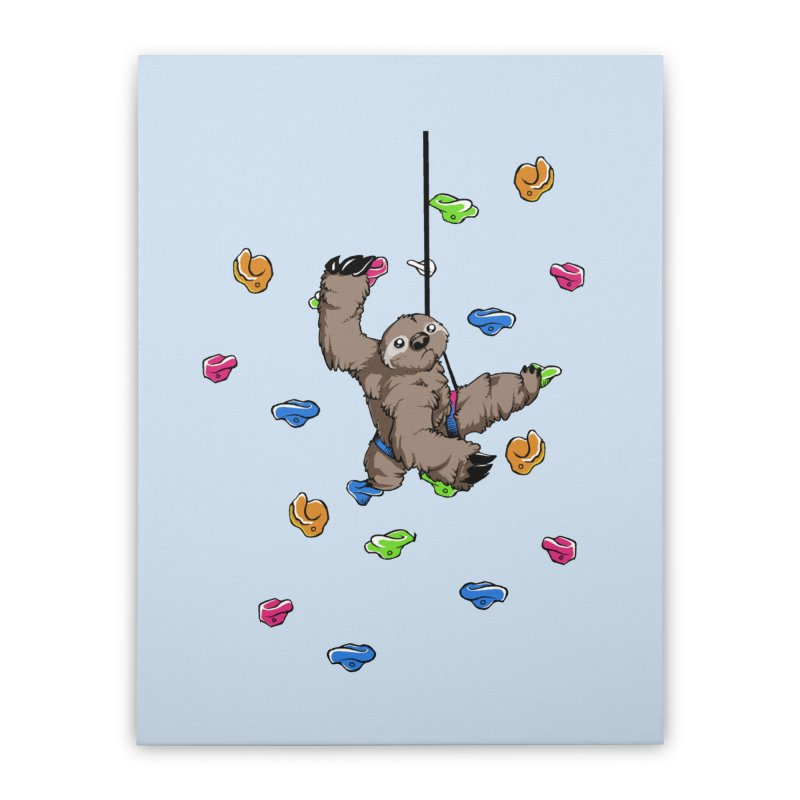 The Climber Home Stretched Canvas by andrewedwards's Artist Shop