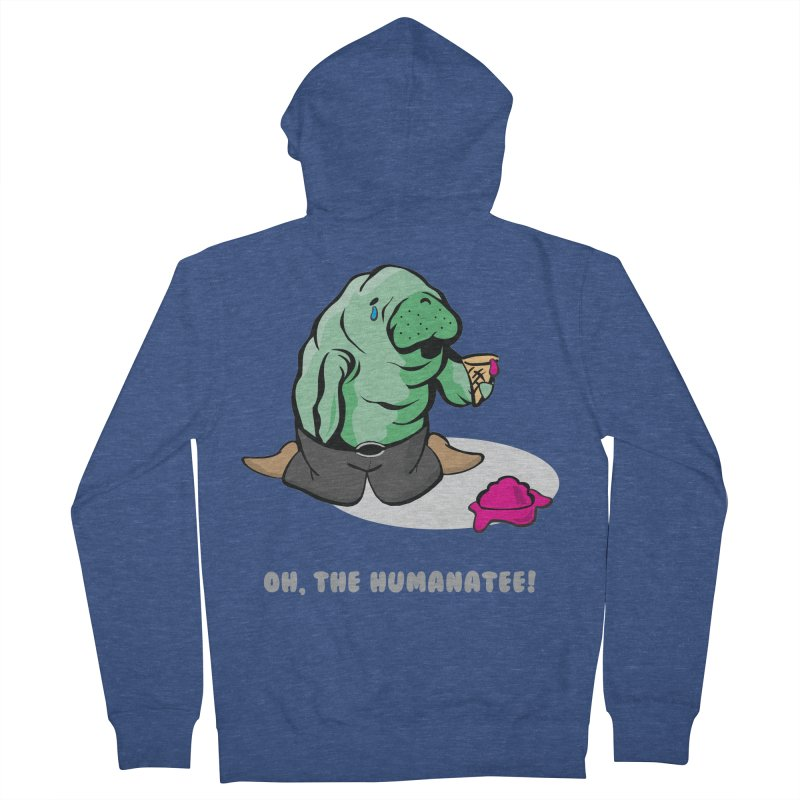 The Humanatee Women's Zip-Up Hoody by andrewedwards's Artist Shop