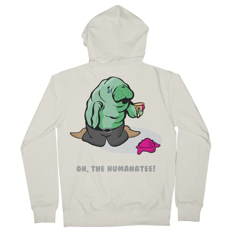 The Humanatee Women's French Terry Zip-Up Hoody by andrewedwards's Artist Shop