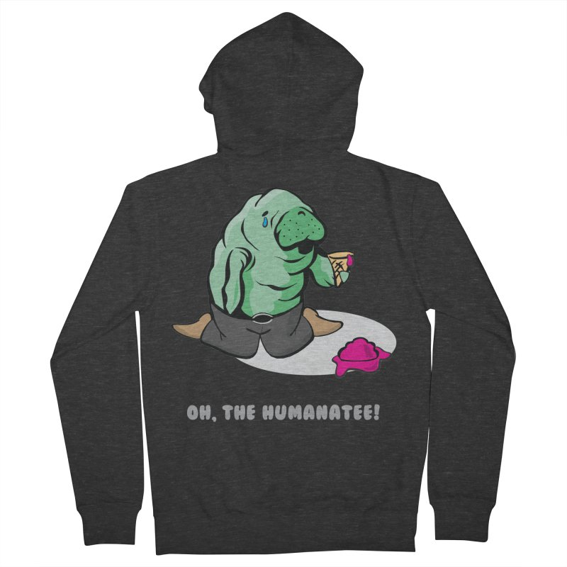 The Humanatee Men's Zip-Up Hoody by andrewedwards's Artist Shop