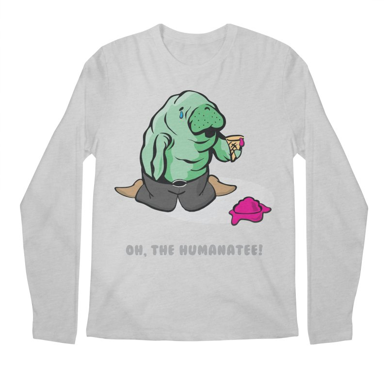 The Humanatee Men's Longsleeve T-Shirt by andrewedwards's Artist Shop