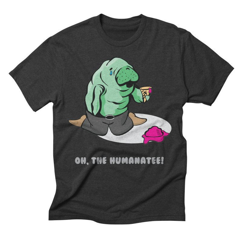 The Humanatee Men's Triblend T-Shirt by andrewedwards's Artist Shop