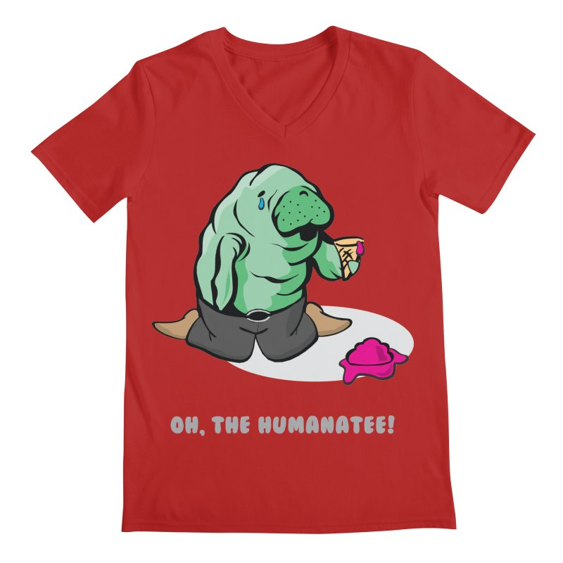 The Humanatee Men's V-Neck by andrewedwards's Artist Shop