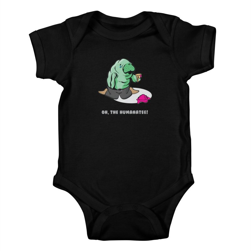 The Humanatee Kids Baby Bodysuit by andrewedwards's Artist Shop