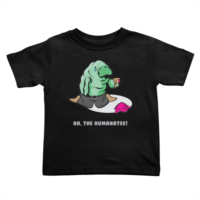 The Humanatee Kids Toddler T-Shirt by andrewedwards's Artist Shop