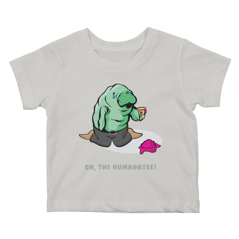 The Humanatee Kids Baby T-Shirt by andrewedwards's Artist Shop
