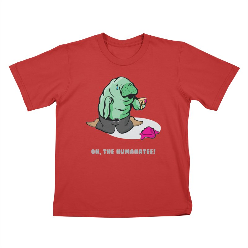 The Humanatee Kids T-Shirt by andrewedwards's Artist Shop
