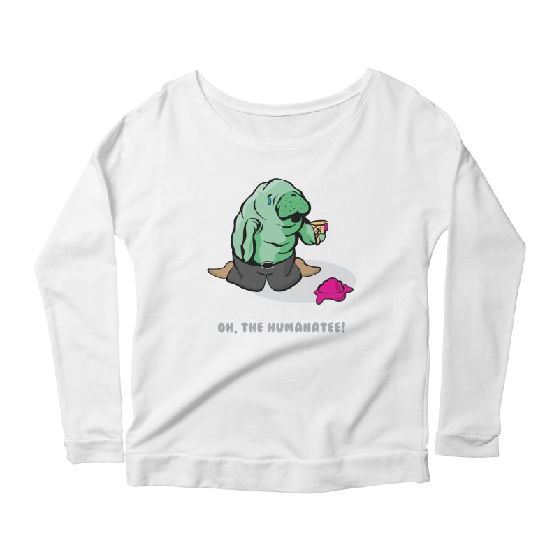 The Humanatee Women's Scoop Neck Longsleeve T-Shirt by andrewedwards's Artist Shop