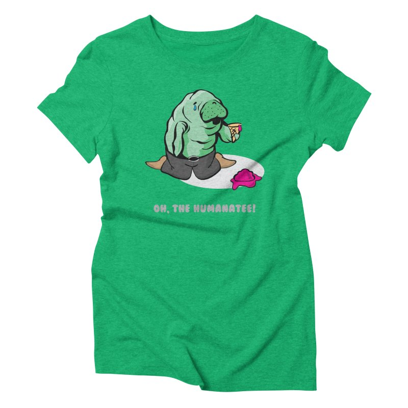The Humanatee Women's Triblend T-shirt by andrewedwards's Artist Shop