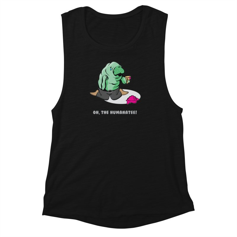 The Humanatee Women's Muscle Tank by andrewedwards's Artist Shop