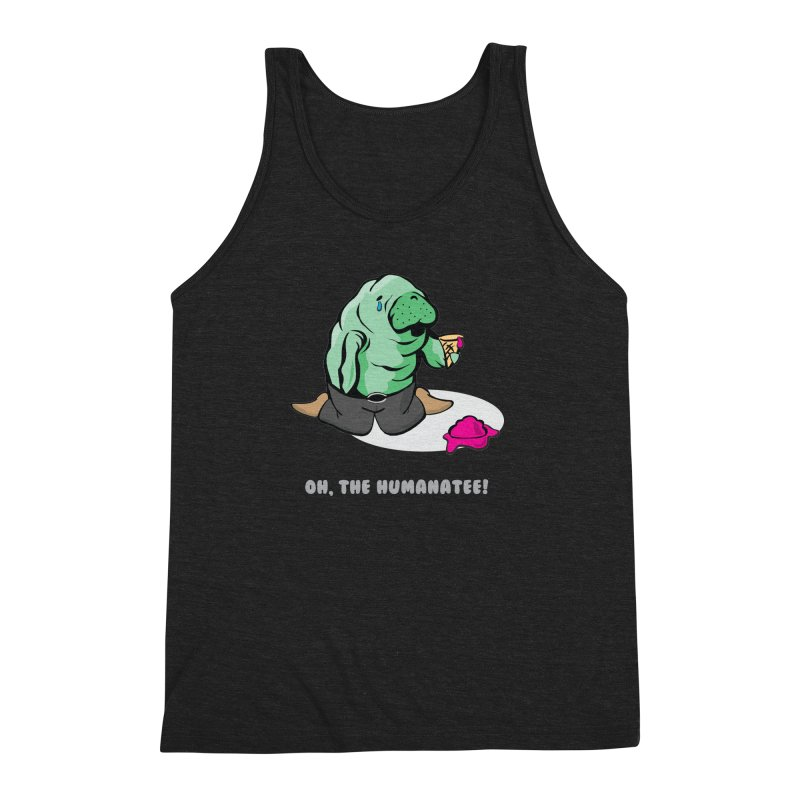The Humanatee Men's Triblend Tank by andrewedwards's Artist Shop