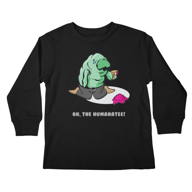 The Humanatee Kids Longsleeve T-Shirt by andrewedwards's Artist Shop