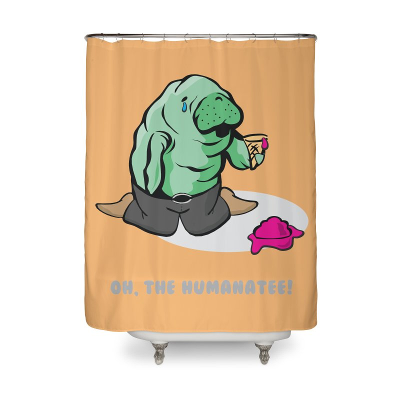 The Humanatee Home Shower Curtain by andrewedwards's Artist Shop