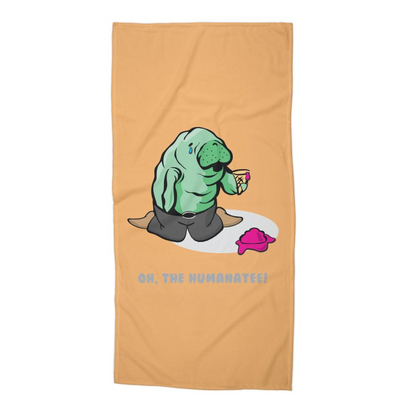 The Humanatee Accessories Beach Towel by andrewedwards's Artist Shop