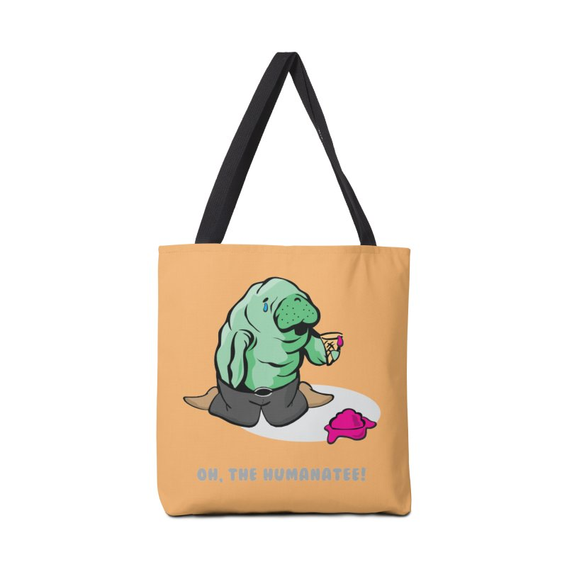 The Humanatee Accessories Tote Bag Bag by andrewedwards's Artist Shop