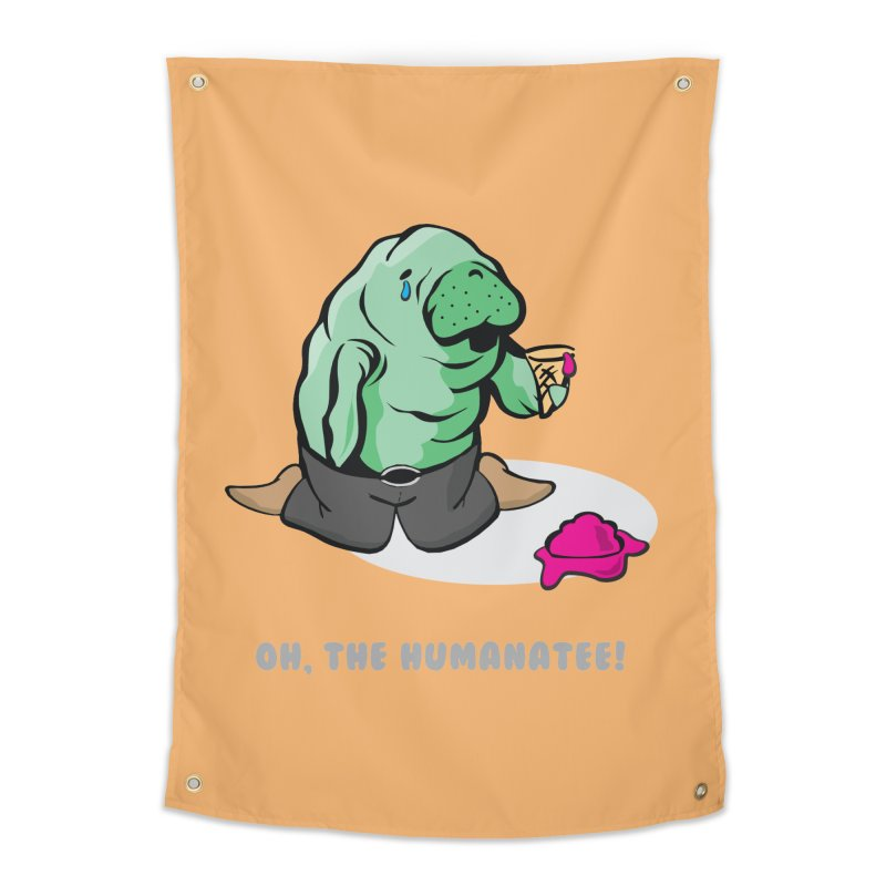 The Humanatee Home Tapestry by andrewedwards's Artist Shop