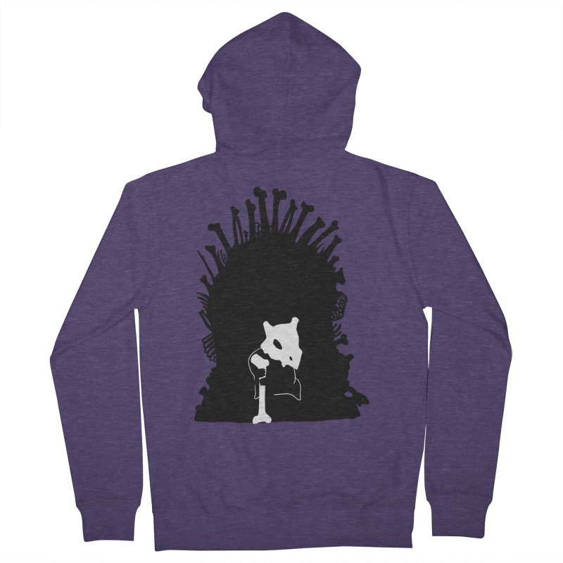 Game of Bones Men's French Terry Zip-Up Hoody by Andrew's Fantastic World Shop