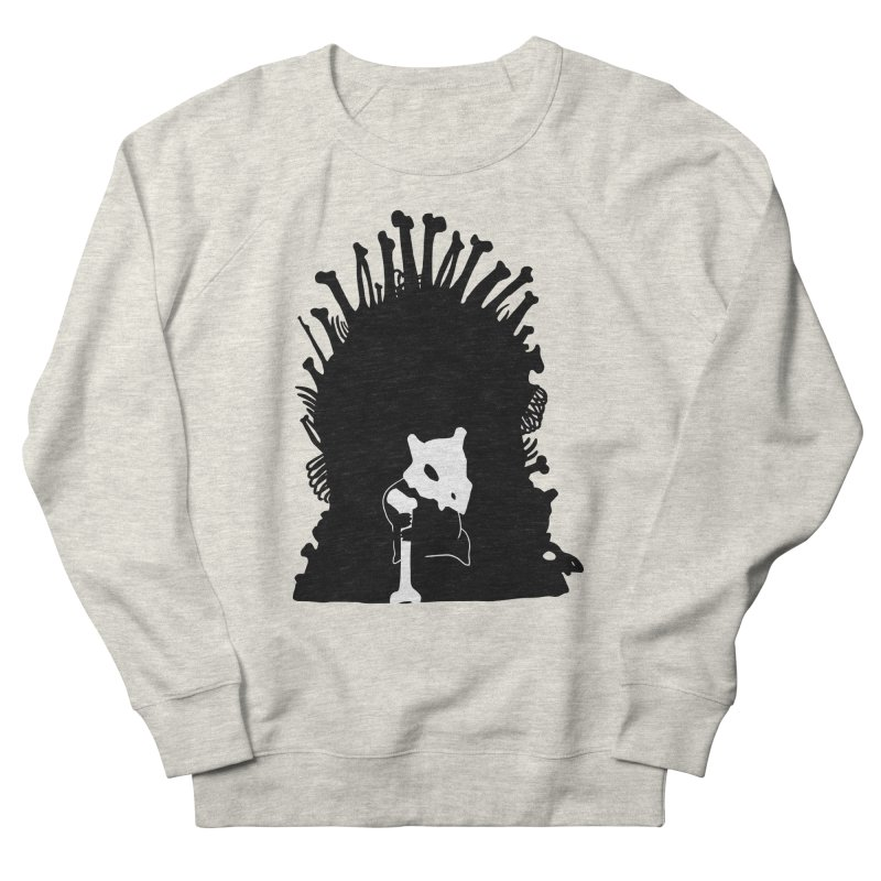 Game of Bones Women's French Terry Sweatshirt by Andrew's Fantastic World Shop