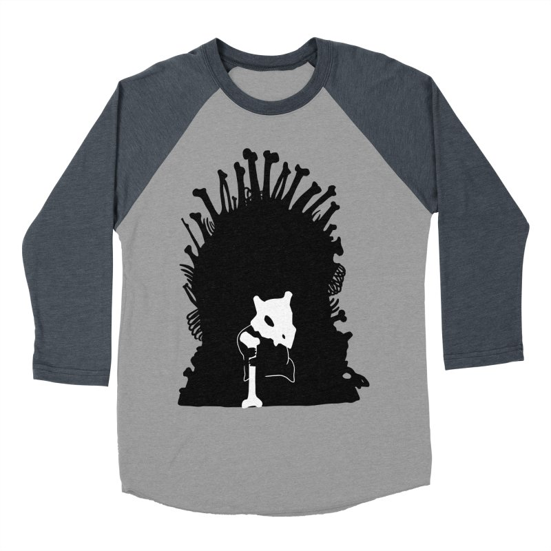 Game of Bones Women's Baseball Triblend T-Shirt by Andrew's Fantastic World Shop