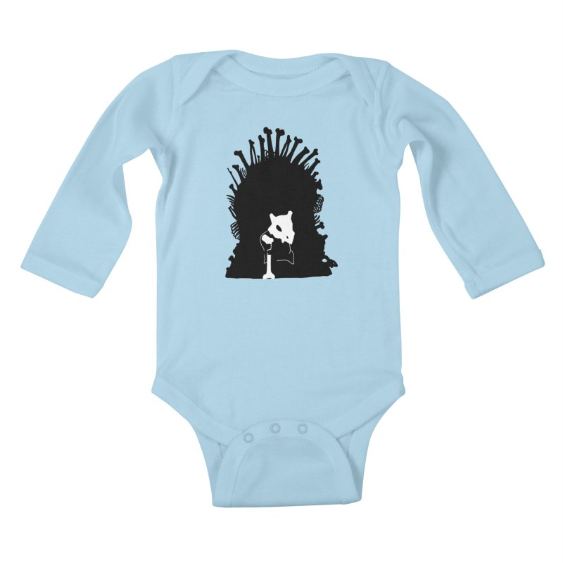 Game of Bones Kids Baby Longsleeve Bodysuit by Andrew's Fantastic World Shop