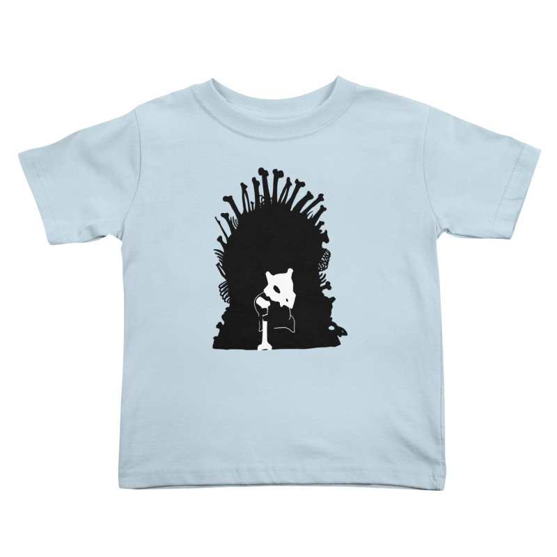 Game of Bones Kids Toddler T-Shirt by Andrew's Fantastic World Shop