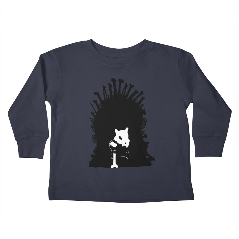 Game of Bones Kids Toddler Longsleeve T-Shirt by Andrew's Fantastic World Shop