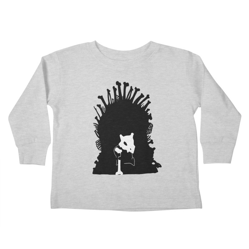 Game of Bones Kids Toddler Longsleeve T-Shirt by Andrew's Fantastic World Shop