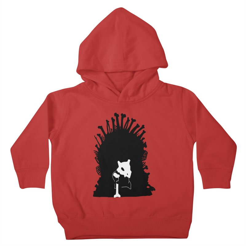 Game of Bones Kids Toddler Pullover Hoody by Andrew's Fantastic World Shop