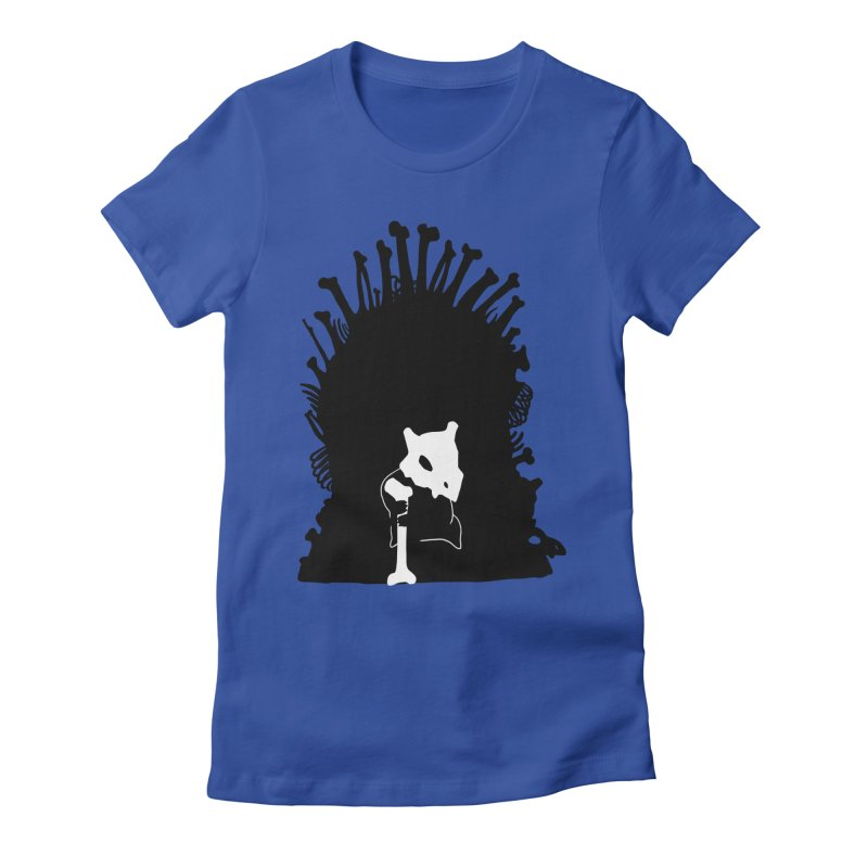Game of Bones Women's Fitted T-Shirt by Andrew's Fantastic World Shop