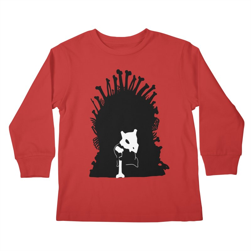 Game of Bones Kids Longsleeve T-Shirt by Andrew's Fantastic World Shop