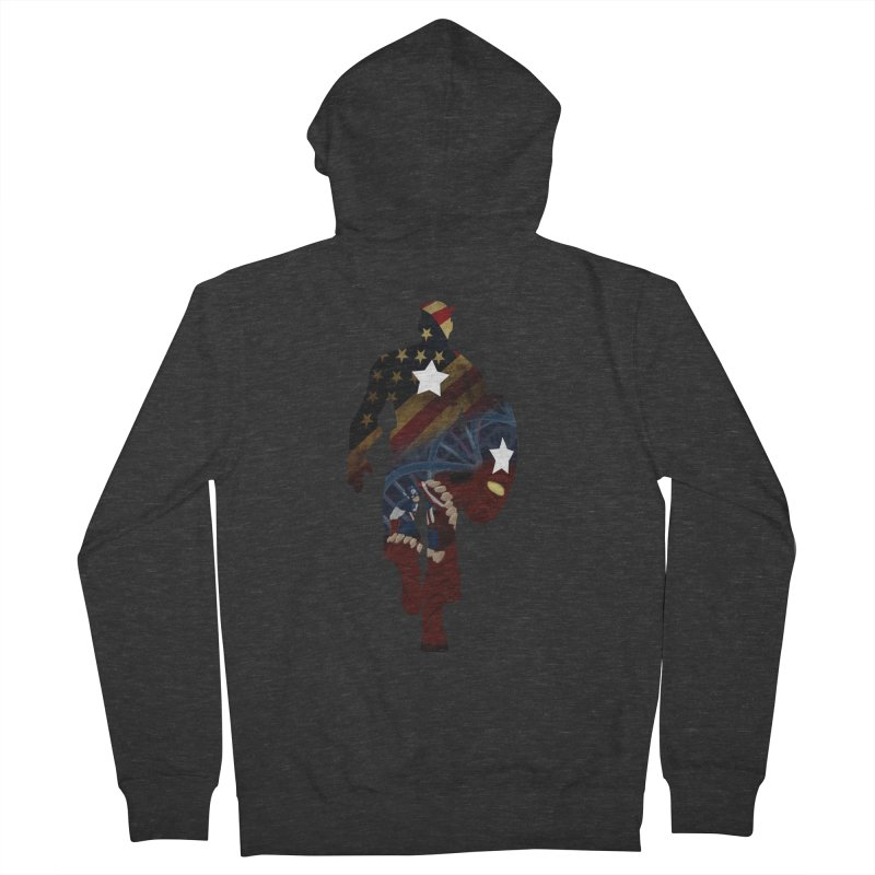 Son of Freedom Women's Zip-Up Hoody by Andrew's Fantastic World Shop