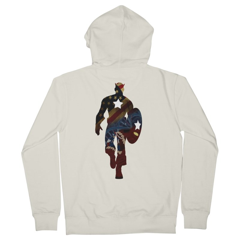 Son of Freedom Men's Zip-Up Hoody by Andrew's Fantastic World Shop