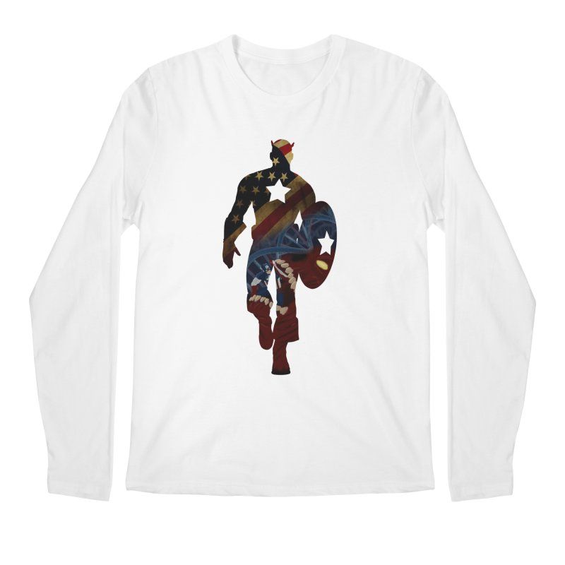 Son of Freedom Men's Longsleeve T-Shirt by Andrew's Fantastic World Shop