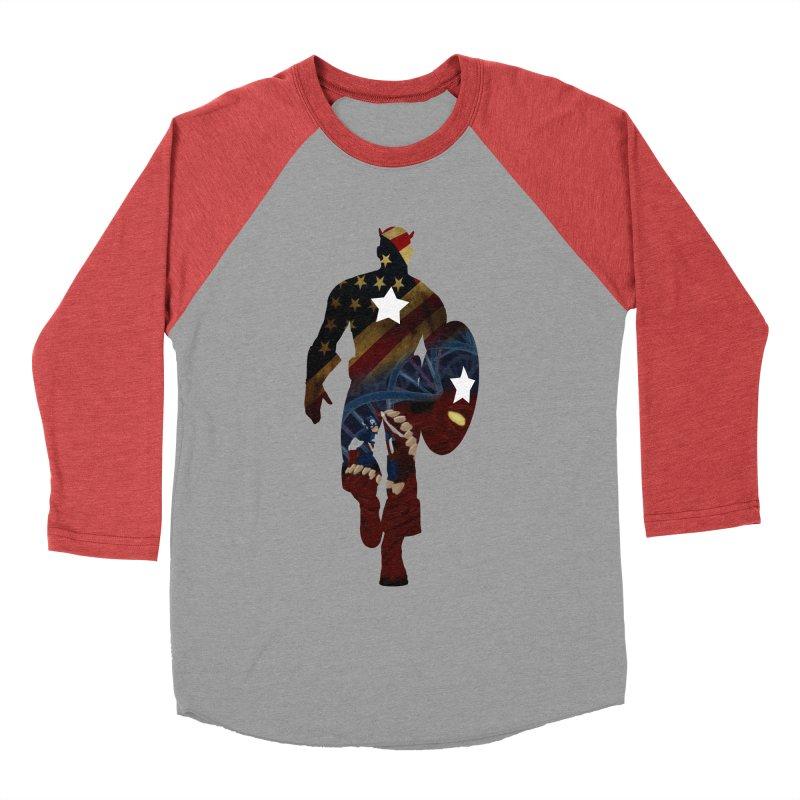 Son of Freedom Women's Baseball Triblend Longsleeve T-Shirt by Andrew's Fantastic World Shop