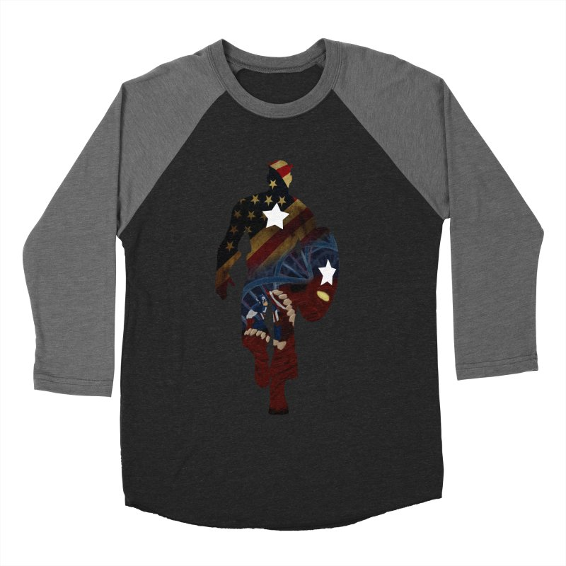 Son of Freedom Men's Baseball Triblend T-Shirt by Andrew's Fantastic World Shop