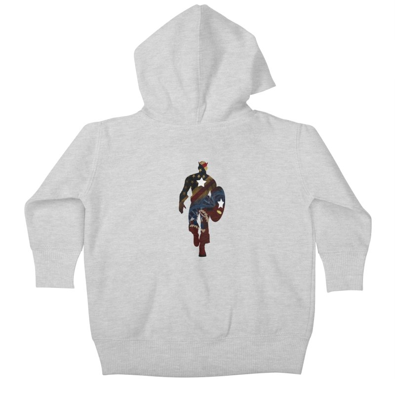 Son of Freedom Kids Baby Zip-Up Hoody by Andrew's Fantastic World Shop