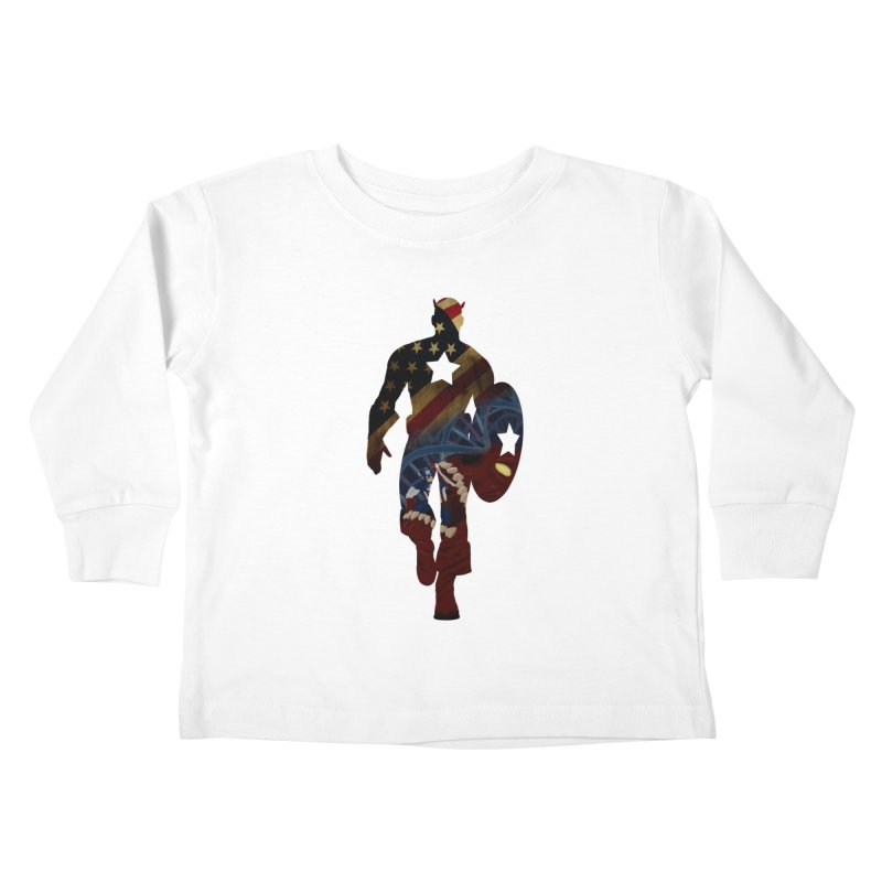 Son of Freedom Kids Toddler Longsleeve T-Shirt by Andrew's Fantastic World Shop