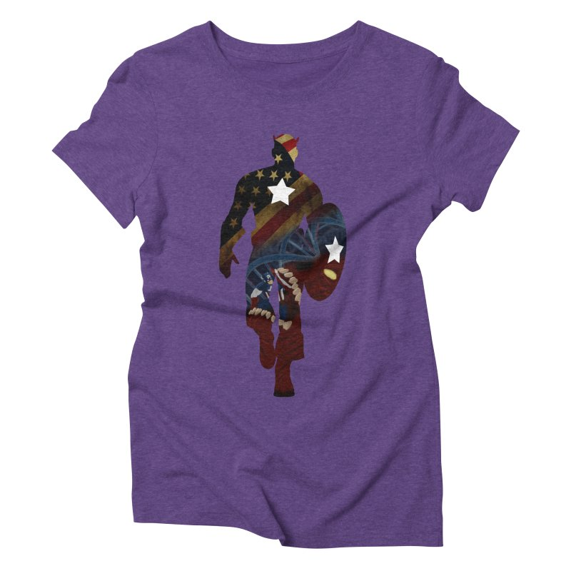 Son of Freedom Women's Triblend T-Shirt by Andrew's Fantastic World Shop
