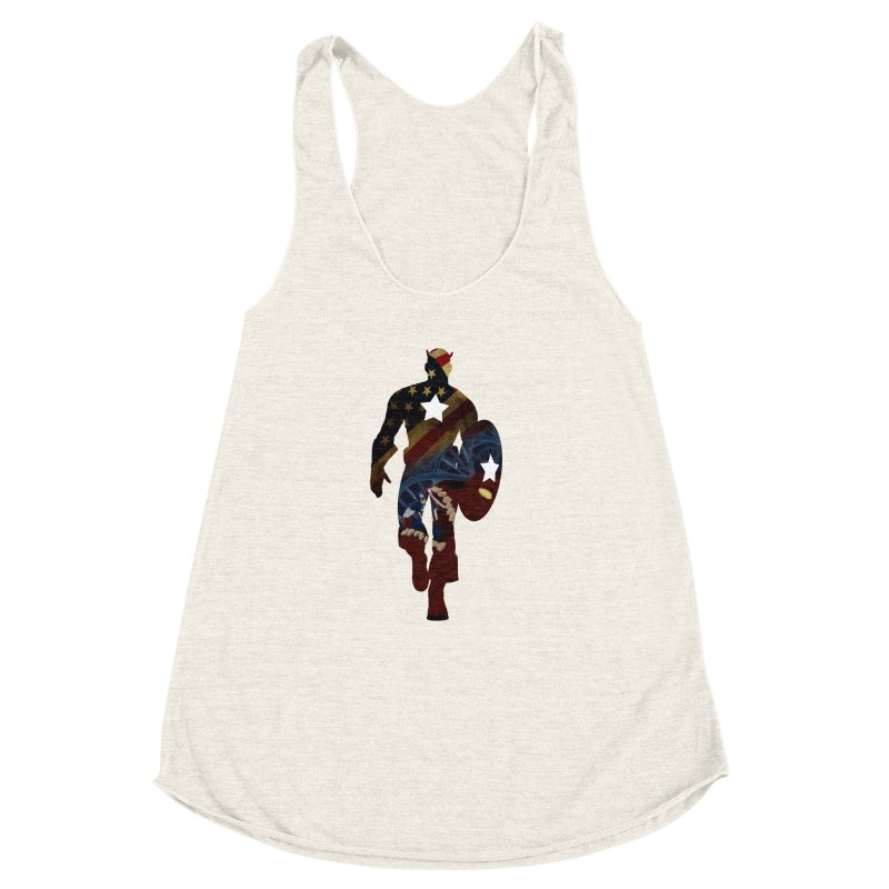 Son of Freedom Women's Racerback Triblend Tank by Andrew's Fantastic World Shop