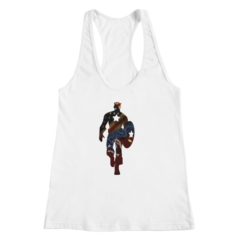 Son of Freedom Women's Racerback Tank by Andrew's Fantastic World Shop