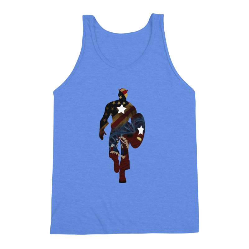 Son of Freedom Men's Triblend Tank by Andrew's Fantastic World Shop