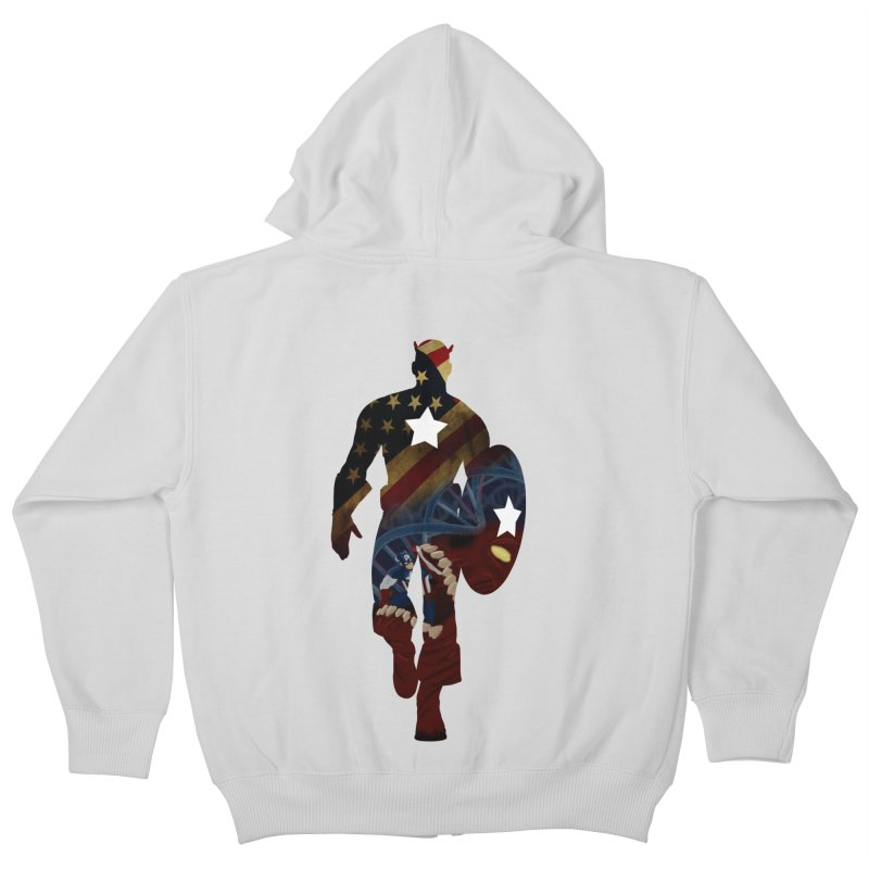 Son of Freedom Kids Zip-Up Hoody by Andrew's Fantastic World Shop
