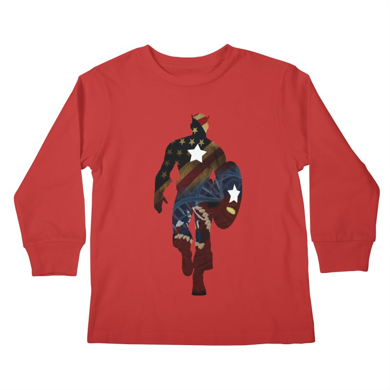 Son of Freedom Kids Longsleeve T-Shirt by Andrew's Fantastic World Shop