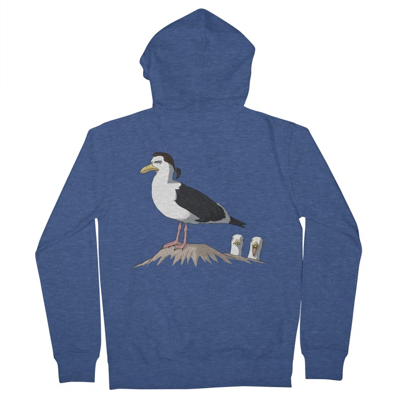 I am Steven Seagull Women's French Terry Zip-Up Hoody by Andrew's Fantastic World Shop